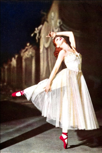 C'est l'un des plus célèbres films de danse, avec l'actrice Moira Shearer, véritable ballerine britannique, dans ce rôle marquant et inoubliable. Quel est ce film ?
