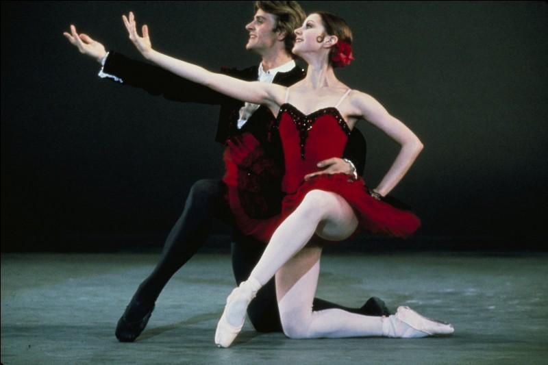 Toujours Mikhaïl Baryshnykov, pour le cinéma, dans cette belle histoire qui fait se revoir deux amies danseuses classiques ayant fait des choix de vie différents, la carrière pour l'une et la vie de famille pour l'autre. Quel est ce film ?