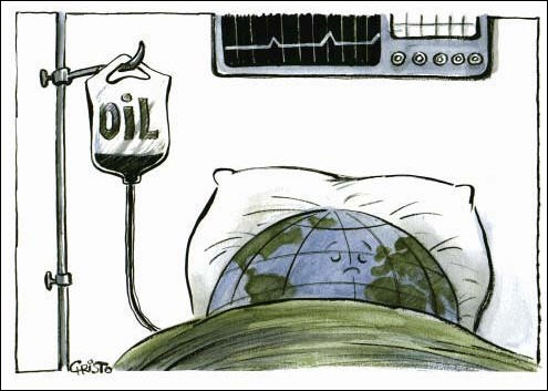 La supériorité manifeste des hommes politiques, c'est la clairvoyance dont ils font preuve : Le pétrole est une ressource inépuisable qui deviendra de plus en plus rare !