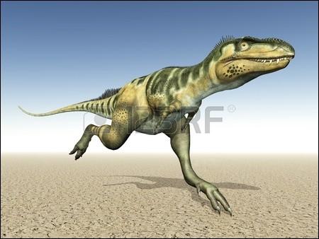 Mégalosaure vivait il y a ...