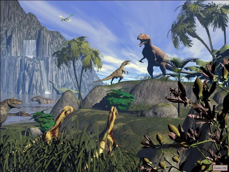 Le plus jeune dinosaure vivait il y a :