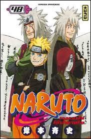 Tome 48 : que donne Konan à Naruto pour qu'il le mette sur la tombe de Jiraya ?