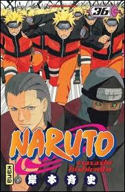 Tome 36 : combien y a-t-il de Naruto tout devant ?Indice sur l'image :