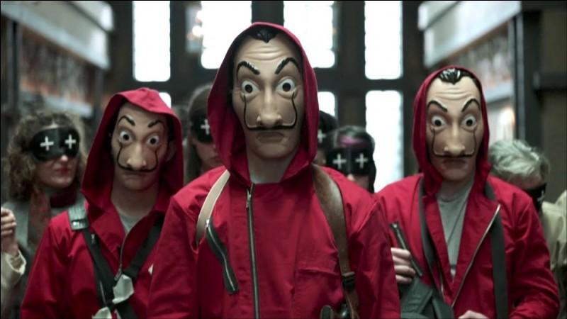 Quel peintre célèbre est représenté sur leurs masques ?