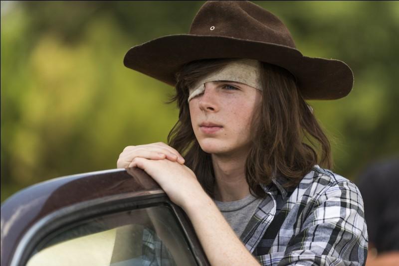 Michonne voit Carl comme...