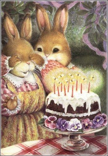 Que vois-tu sur le gâteau ?
