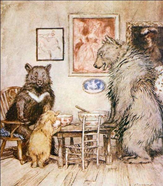 Dans quel conte peut-on rencontrer ces ours ?