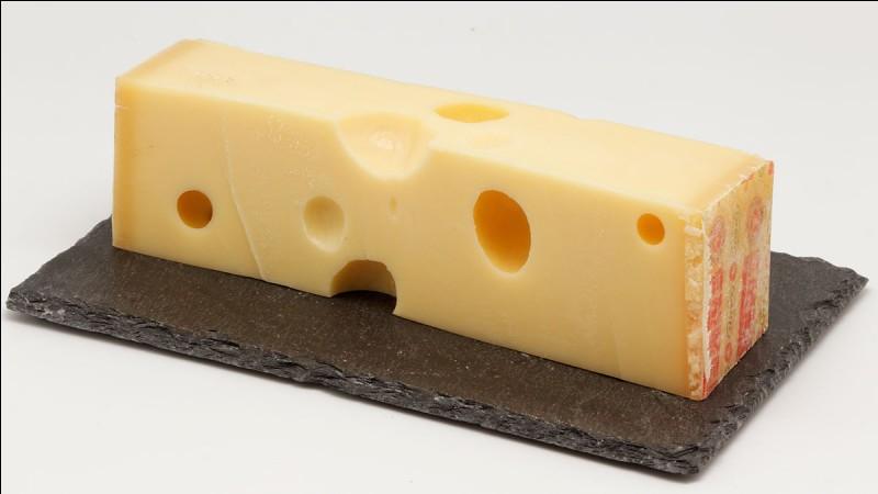 C'est un fromage suisse dont le nom provient de la vallée de l'Emme, une région à l'est du canton de Berne.