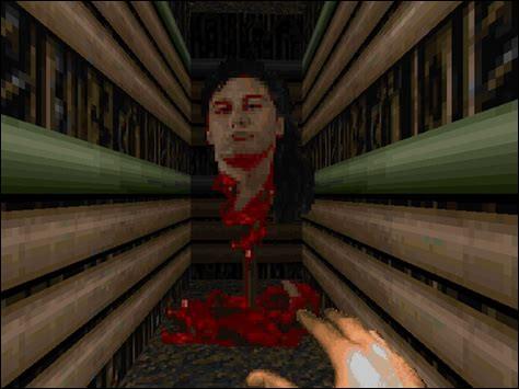 Pour finir : dans « Doom II », à qui appartient cette tête cachée à la fin du jeu ?