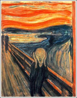 Ce tableau appelé 'Le Cri' est le mien, je suis un expressioniste, je suis ...