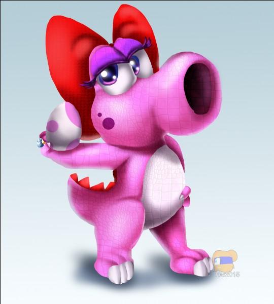 Comment se nomme la compagne de Yoshi ?