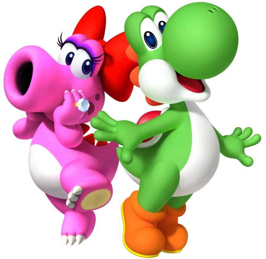 Yoshi et sa compagne ! (1)