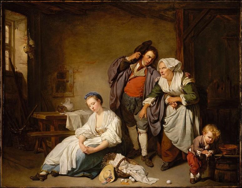 """Qui est l'auteur de la peinture nommée """"Les Œufs cassés"""" ?"""