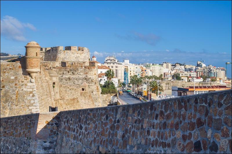 Où se trouve la Ceuta ?