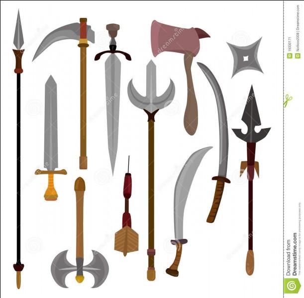 Avec quelle arme voudrais-tu te battre ?