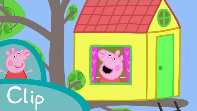 Quel est le mot de passe pour aller dans la cabane de Peppa et Georges ?