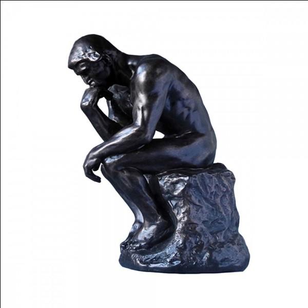 """Qui a sculpté """"Le Penseur"""" ?"""