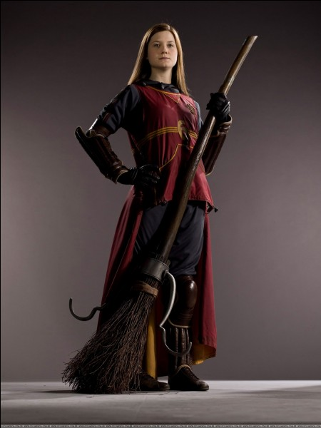 Quel rôle a Ginny dans le quidditch?