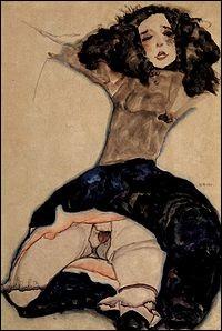 """Il a peint """"Fille aux cheveux noirs sans jupe"""". Vrai ou faux ?"""