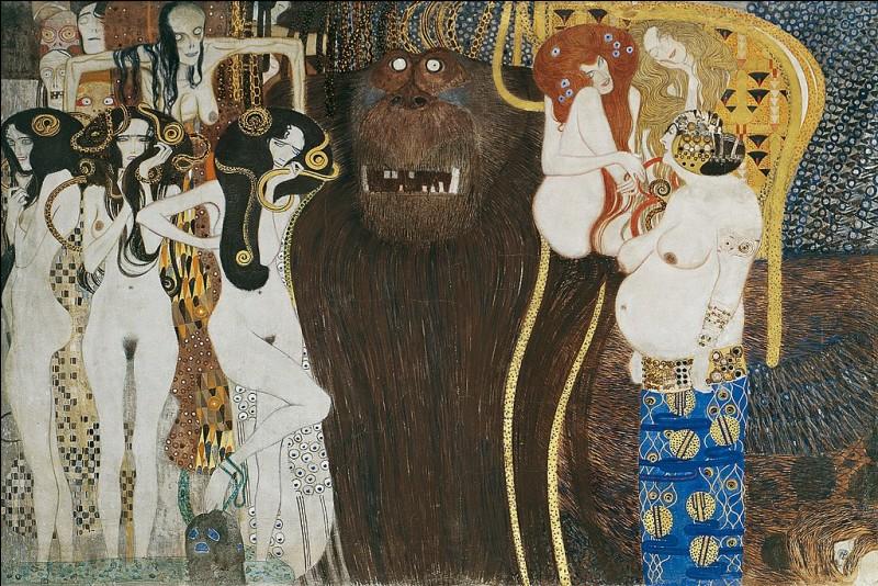 Quel est le nom de la célèbre frise qu'il a peint ?