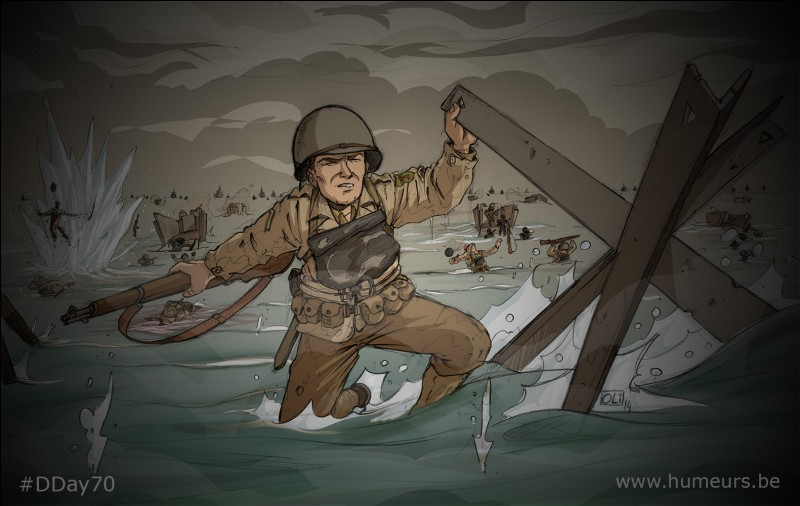 En 1944, quand le Débarquement de Normandie a-t-il eu lieu ?