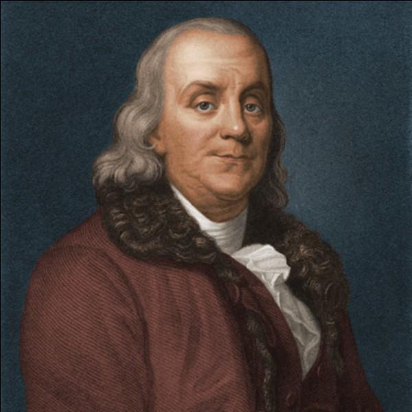 Qu'a donc inventé Benjamin Franklin ?