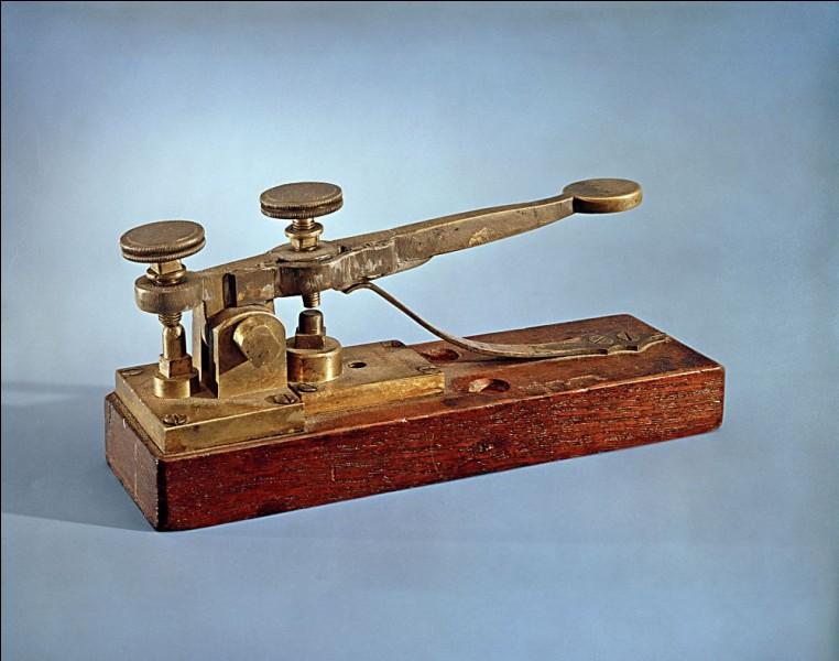 Quel savant a mis en service la première ligne télégraphique entre Washington et Baltimore en 1843 ?