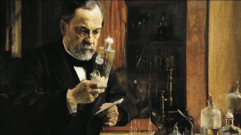 Qu'a donc inventé Louis Pasteur en 1885 ?