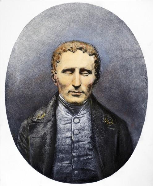 Qu'a donc inventé Louis Braille en 1825 ?