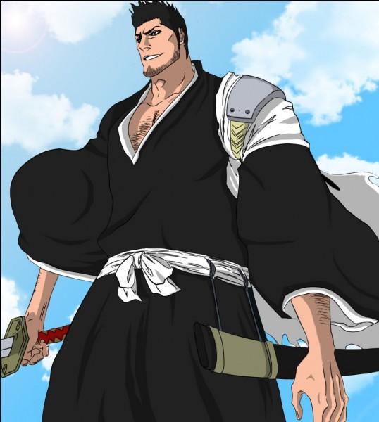 Père du héros du manga, nous le connaissions humain jusqu'au jour où il apparaît sous cette forme. De quelle division était-il le capitaine ?