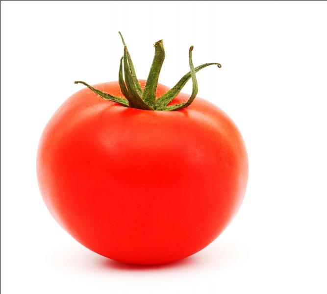 Une tomate est...