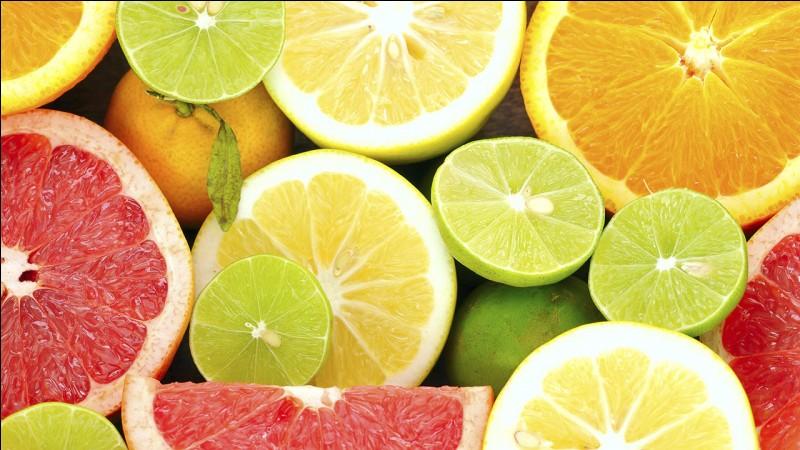 Quels fruits sont des agrumes ?