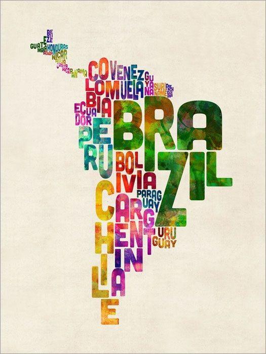 Drapeaux de l'Amérique latine