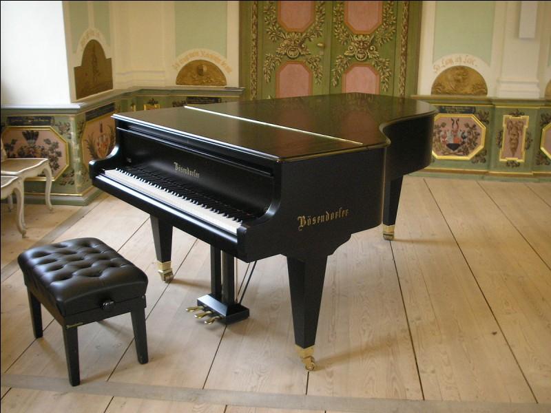 Le piano est un instrument à cordes ...