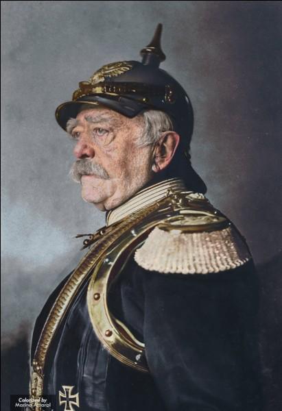 Trouvez le pays d'Otto von Bismarck.