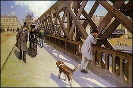 """Qui a peint """"Le Pont de l'Europe"""" ?"""