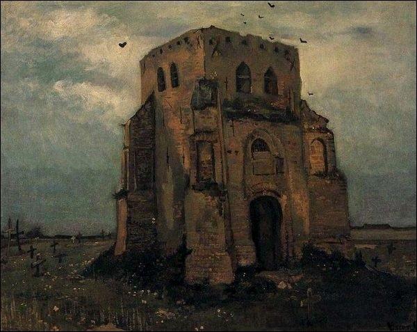 """Qui a peint """"La veille tour du cimetière"""""""