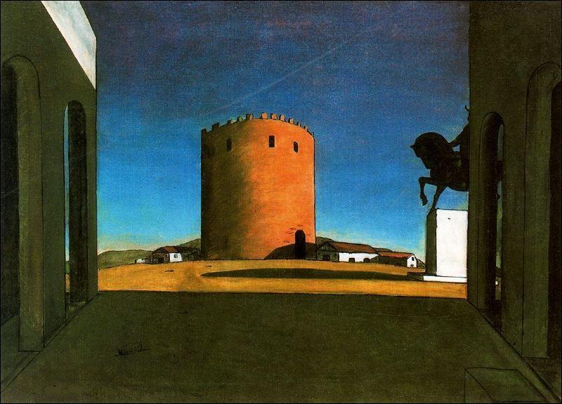 """Qui est le peintre de """"La tour rouge"""" ?"""