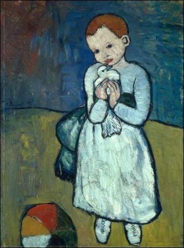 Je préfère cette toile à tes peintures cubistes !