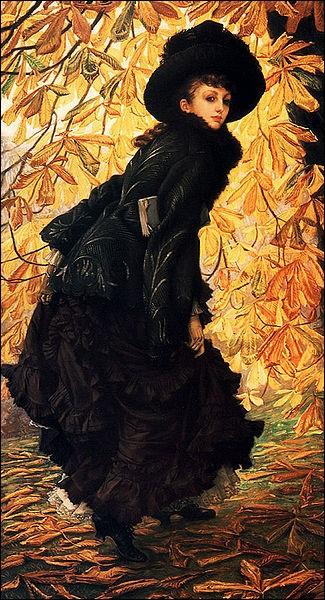 """Tu as peint de très très jolies toiles impressionnistes ! Celle-ci s'intitule """"Octobre"""" !"""