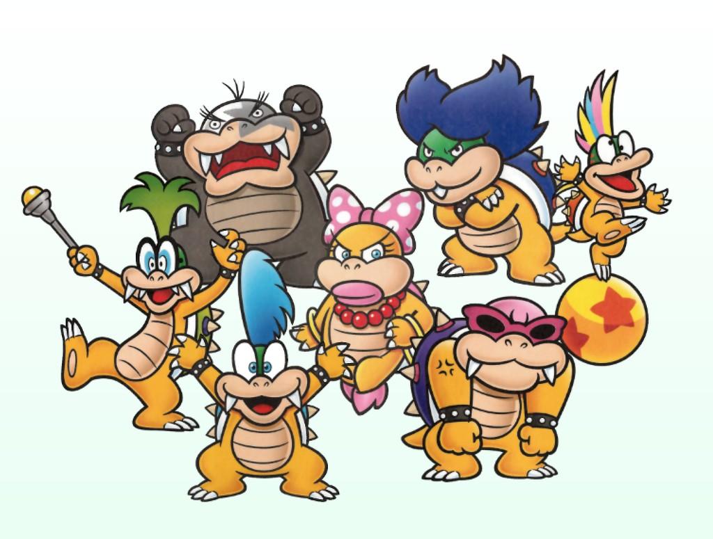 Mario : les Koopalings