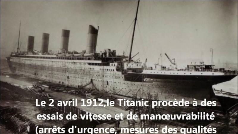 Connais-tu bien le film 'Titanic' ?