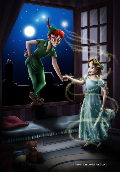 Quel âge a Wendy lorsqu'elle rencontre Peter Pan ?