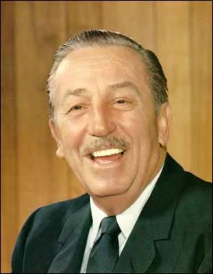 Quel est le nom complet de Walt Disney ?