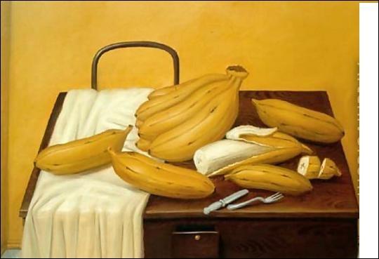 Qui a représenté ces bananes ?