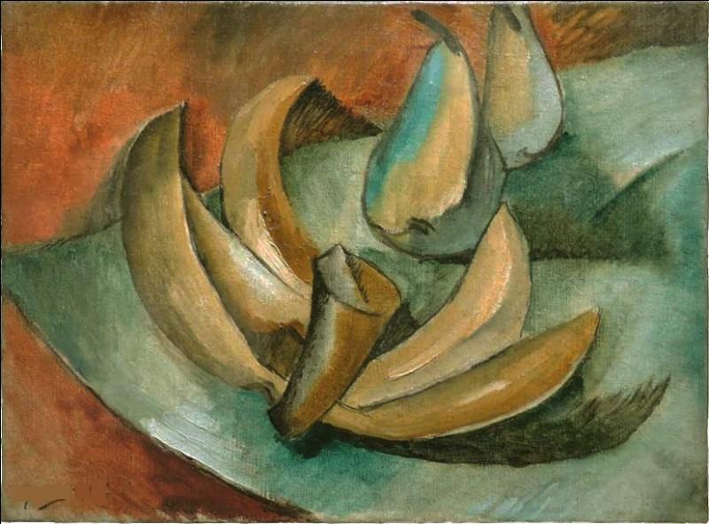 """Qui a peint """"Cinq bananes et deux poires"""" ?"""