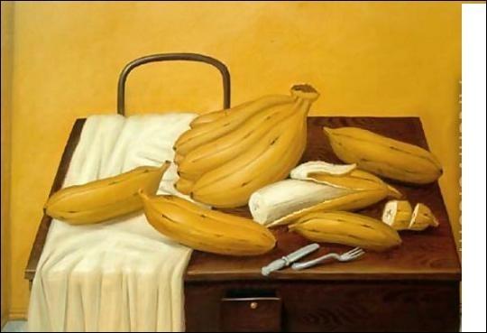 Les peintres ont la banane !