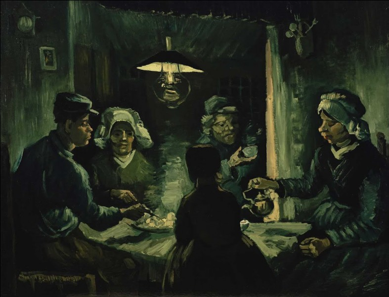 Quel est le nom de cette toile de Vincent van Gogh ?