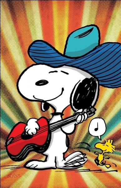W - Dans la bande dessinée Peanuts, le petit oiseau ''Woodstock'' est le meilleur ami de Snoopy le chien.