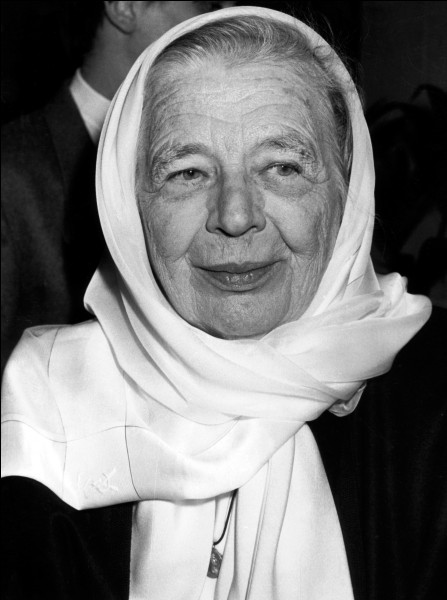 Y - Marguerite ''Yourcenar'' est la deuxième femme élue à l'Académie française.